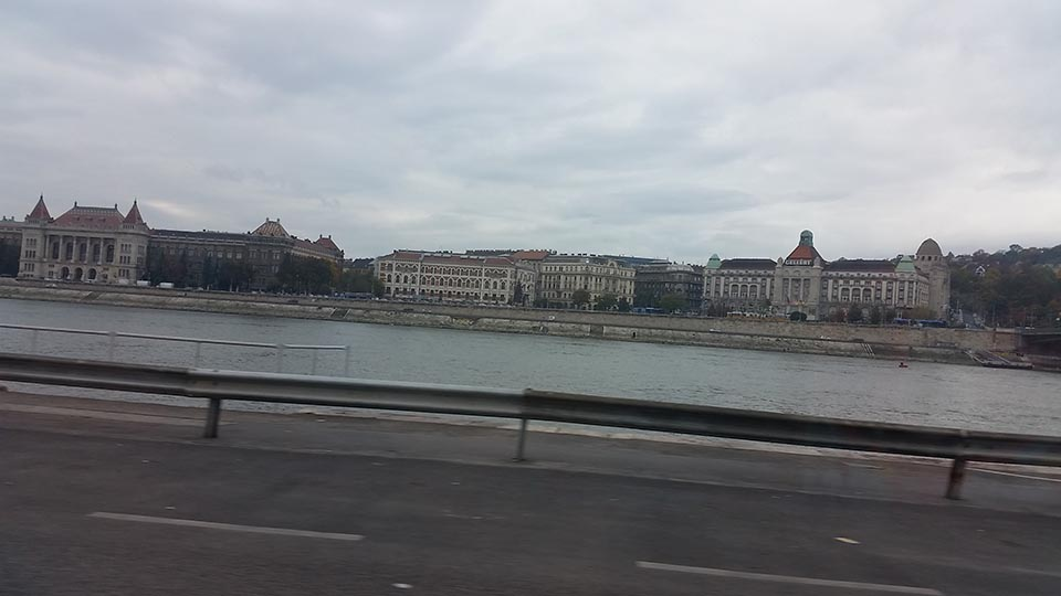 arriving to Budapest